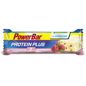 PowerBar Protein Plus + L-Carnitin Riegel Box Raspberry-Yoghurt 30 x 35 g